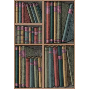 114/5010-CS EX LIBRIS Forest Cole & Son Wallpaper