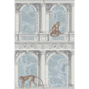 114/8015-CS PROCURATIE CON VISTA Stone Powder Blue Cole & Son Wallpaper