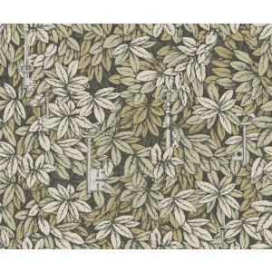 114/9017-CS CHIAVI SEGRETE Gilver Gold Cole & Son Wallpaper