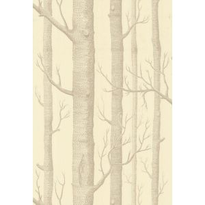69/12148-CS WOODS Beige Cream Cole & Son Wallpaper