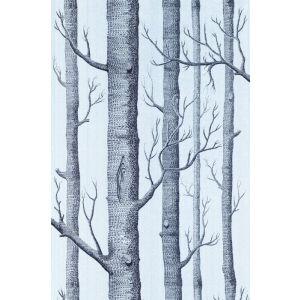 69/12150-CS WOODS Choc Silver Cole & Son Wallpaper