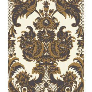 94/3014-CS WYNDHAM Black Gold Cole & Son Wallpaper