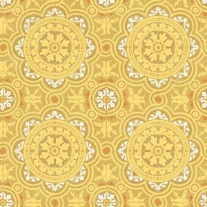 94/8046-CS PICCADILLY Ochre Cole & Son Wallpaper