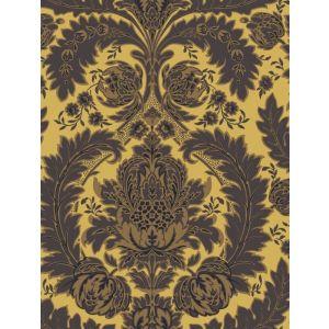 94/9049-CS COLERIDGE Yellow Gold And Black Cole & Son Wallpaper
