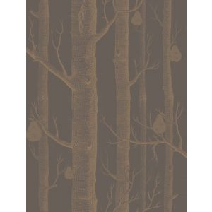 95/5028-CS WOODS & PEARS Bronze Black Cole & Son Wallpaper