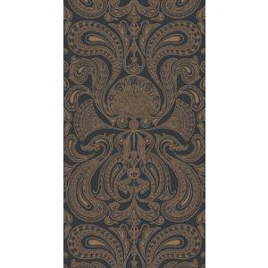 95/7044-CS MALABAR Bronze Black Cole & Son Wallpaper