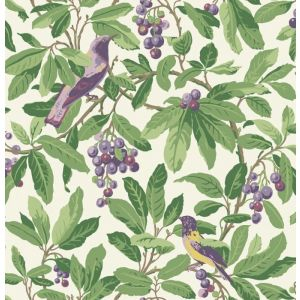 98/1001-CS ROYAL GARDEN Green Purple Cole & Son Wallpaper