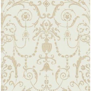 98/12053-CS REGALIA Olive Gold Cole & Son Wallpaper