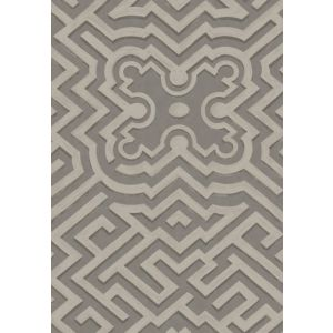 98/14056-CS PALACE MAZE Dk Linen Gilver Cole & Son Wallpaper