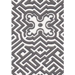 98/14057-CS PALACE MAZE Black White Cole & Son Wallpaper