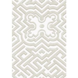 98/14058-CS PALACE MAZE Stone White Cole & Son Wallpaper