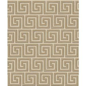 98/5021-CS QUEENS KEY Linen Gold Cole & Son Wallpaper