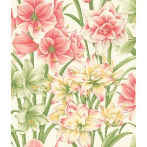 98/6023-CS EXOTICKS Green Pink Cole & Son Wallpaper
