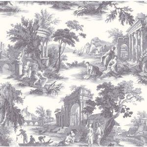 99/1003-CS VILLANDRY Charcoal Cole & Son Wallpaper