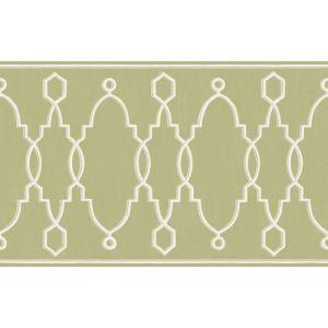 99/3012-CS PARTERRE BORDER Leaf Green Cole & Son Wallpaper