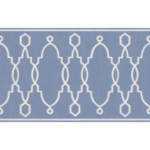 99/3014-CS PARTERRE BORDER Cobalt Blue Cole & Son Wallpaper