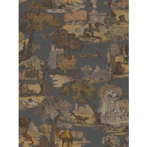 F111/6024-CS VERSAILLES GRAND Charcoal Bronze Cole & Son Fabric