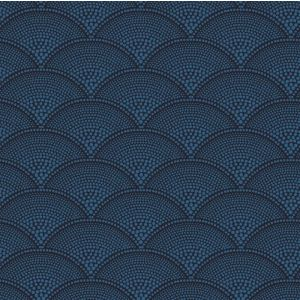F111/8028-CS FEATHER FAN Ink Cole & Son Fabric