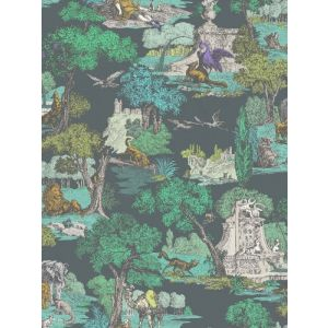 F111/6022-CS VERSAILLES GRAND Viridian Cole & Son Fabric