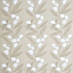 PW78020-4 BELL FLOWER Stone Ivory Baker Lifestyle Wallpaper
