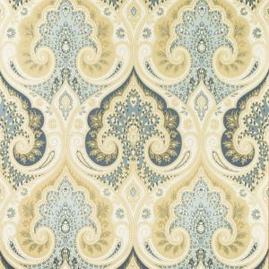 PW78031-5 LATIKA Indigo Baker Lifestyle Wallpaper