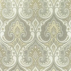 PW78031-6 LATIKA Stone Silver Baker Lifestyle Wallpaper