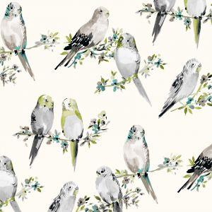 B9507 Dove Greenhouse Fabric
