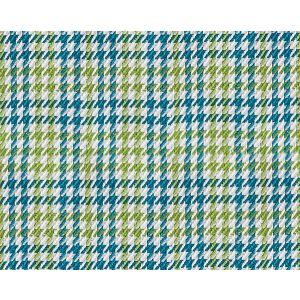 B8 00140656 ELMER Turquoise Lime Scalamandre Fabric