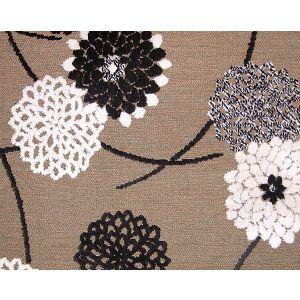 CA 07201260 ZINNIA Ecru Ebene Old World Weavers Fabric