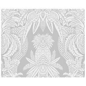 CL 000216482 EAST INDIA Bianco, Grigio Scalamandre Fabric