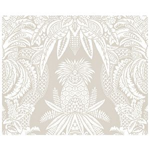 CL 000316482 EAST INDIA Bianco, Beige Scalamandre Fabric