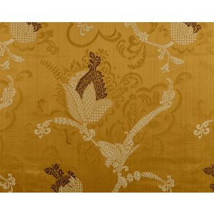 CL 000326715 VIVALDI Brown Linen On Sienna Scalamandre Fabric