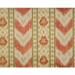 CL 000426416 UNGHERESE RIGATO Multi Reds Taupes Scalamandre Fabric
