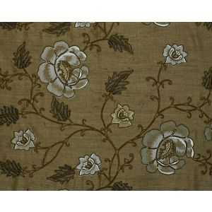 CL 000526818 FLOWDERY Brown On Brown Scalamandre Fabric