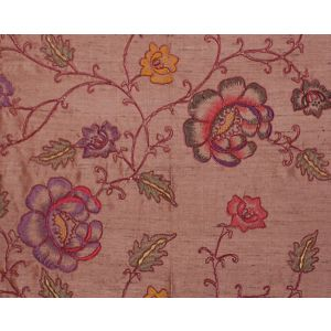 CL 000626818 FLOWDERY Red On Red Scalamandre Fabric