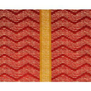 CL 000636372 ZIG ZAG Rosso Scalamandre Fabric