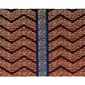 CL 000736372 ZIG ZAG Bordeaux Scalamandre Fabric