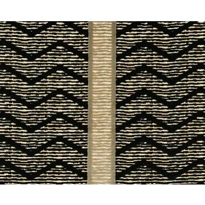 CL 000836372 ZIG ZAG Nero Scalamandre Fabric
