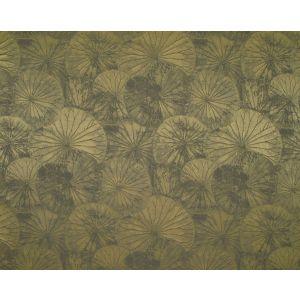 E7 0040LOTU LOTUS Olive Old World Weavers Fabric