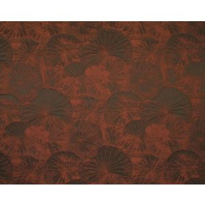 E7 0110LOTU LOTUS Burnt Orange Old World Weavers Fabric