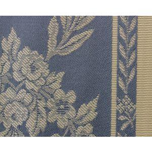 H0 00011529 LAURIERS-LE Bleu Scalamandre Fabric