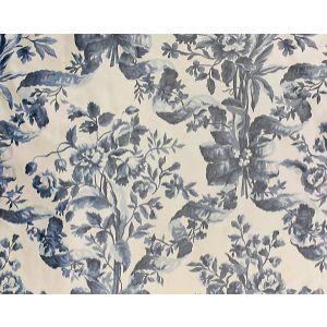H0 00011587 LAMBALLE Bleu Scalamandre Fabric