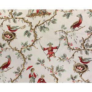 H0 00011620 MANDARIN BALANCOIRE Bleu Scalamandre Fabric