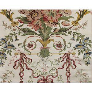 H0 00011672 LIANCOURT Multi On Ivory Scalamandre Fabric