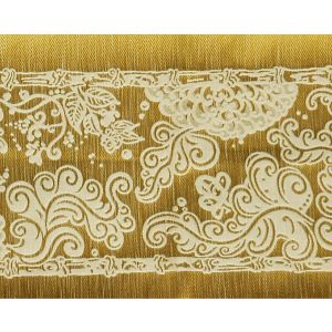 H0 00011689 SOLIMAN BORDURE Ivoire Scalamandre Fabric