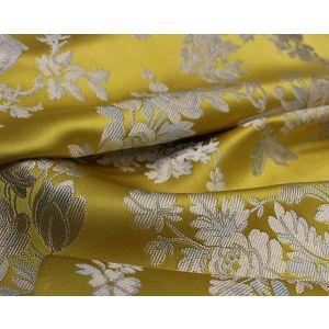 H0 00031539 LES AMOURS SEAT & BACK Jaune Scalamandre Fabric