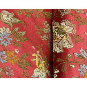 H0 00031666 FERRIERES H0 Rubies Scalamandre Fabric