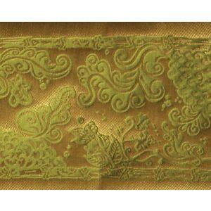 H0 00051689 SOLIMAN BORDURE Vert Scalamandre Fabric