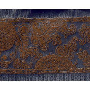 H0 00061689 SOLIMAN BORDURE Brun Scalamandre Fabric