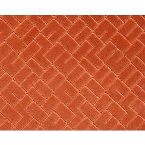 H0 00090576 VALLAURIS VELVET Terracotta Scalamandre Fabric